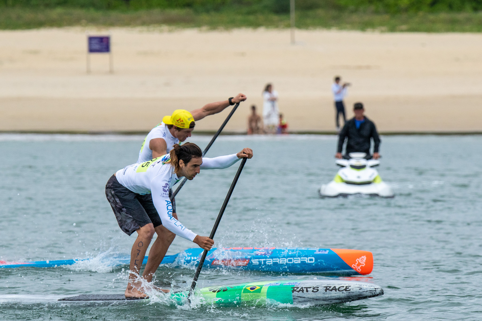 An ISA SUP World Championships took place last year in China ©ISA