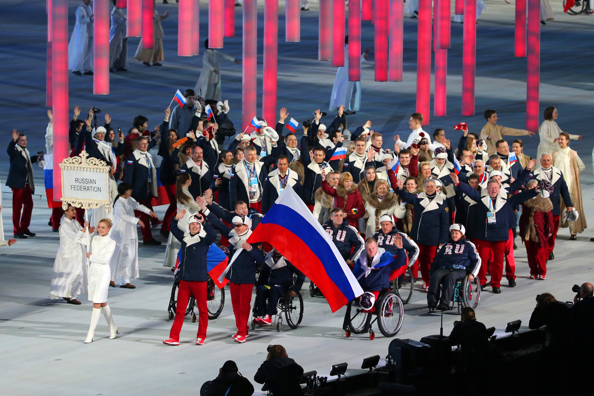 The International Paralympic Committee has confirmed that it has conditionally reinstated Russia as a member ©Getty Images