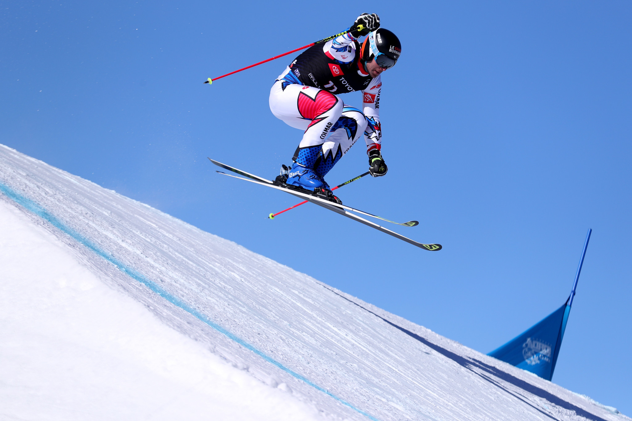 France's Bastien Midol will be looking to end an impressive FIS Ski Cross World Cup season on a high in Veysonnaz ©Getty Images