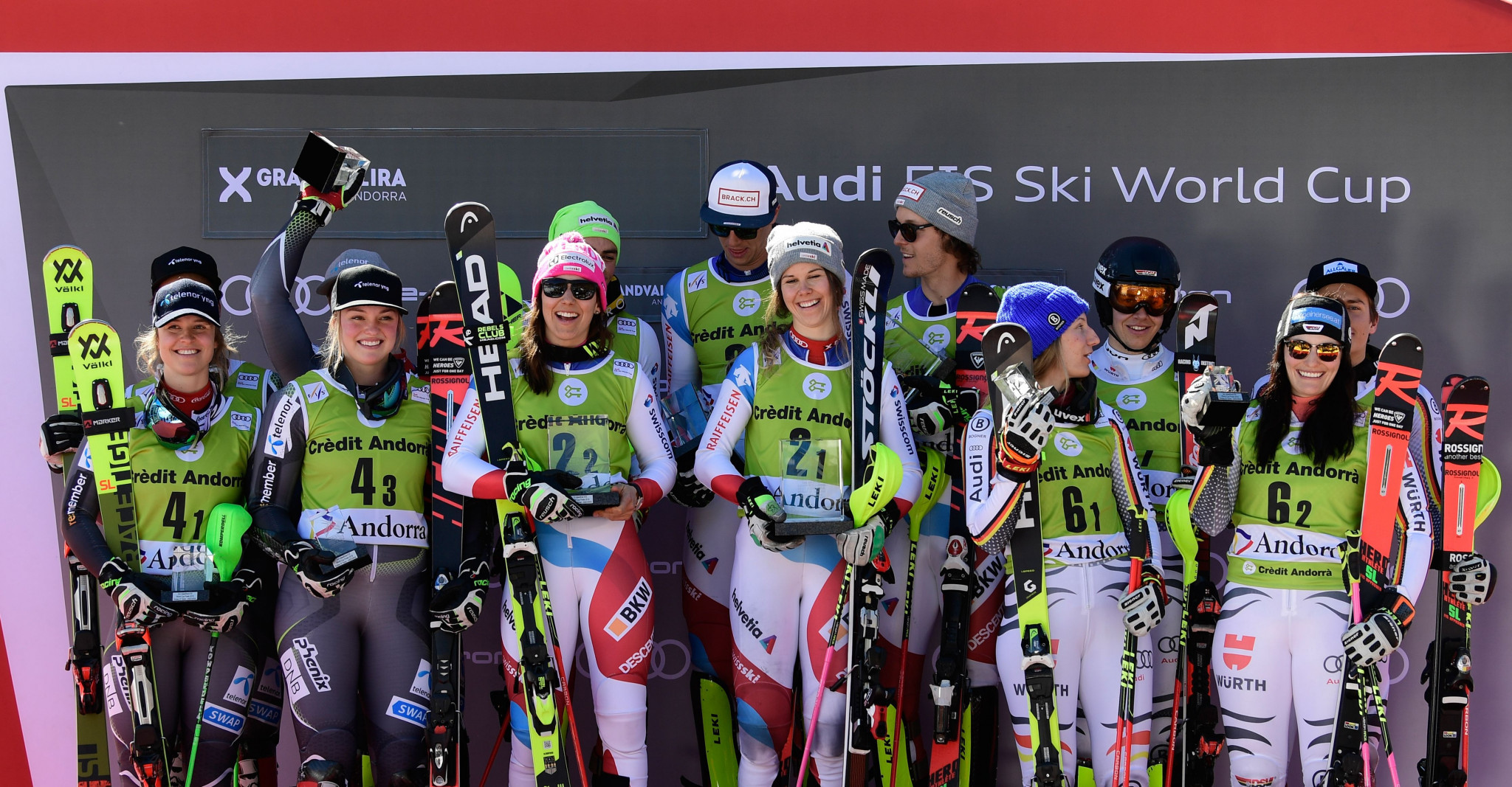 Switzerland maintain Alpine skiing team event dominance at World Cup Finals