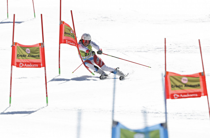 Wendy Holdener was part of Switzerland's victory in the Alpine team event today at the FIS World Cup Finals in Andorra ©Getty Images