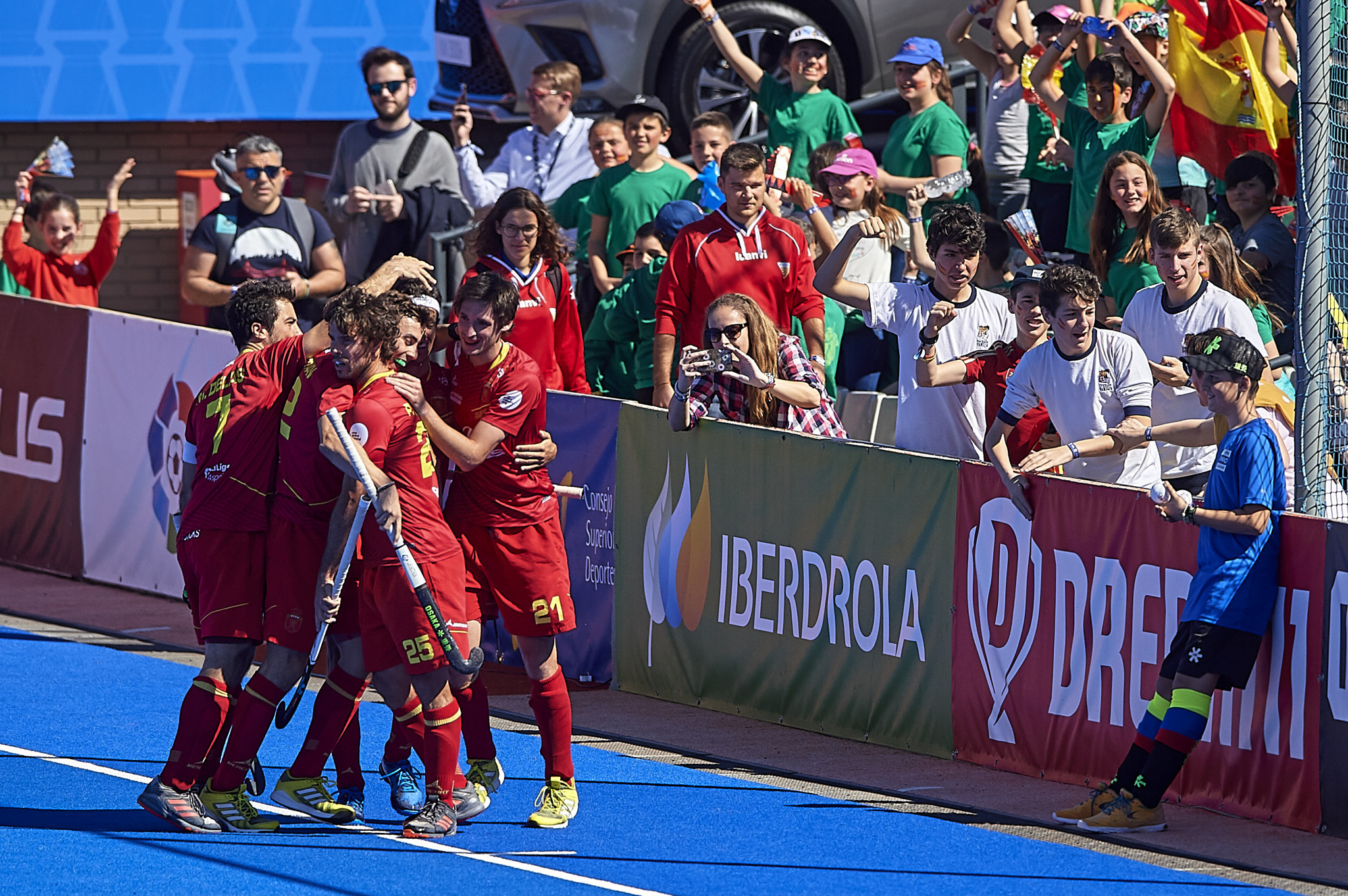 Spain defeated Germany on penalties in a Men's International Hockey Federation Pro League clash today to continue their remarkable shoot-out record ©Getty Images