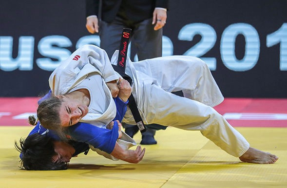 Rio 2016 Olympic champion Paula Pareto of Argentina was one of the five winners on the opening day of the International Judo Federation Grand Slam in Ekaterinburg ©IJF