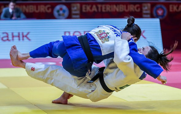 Israel's Gili Cohen captured her second IJF Grand Slam gold medal with victory in the women's under-52kg category ©IJF
