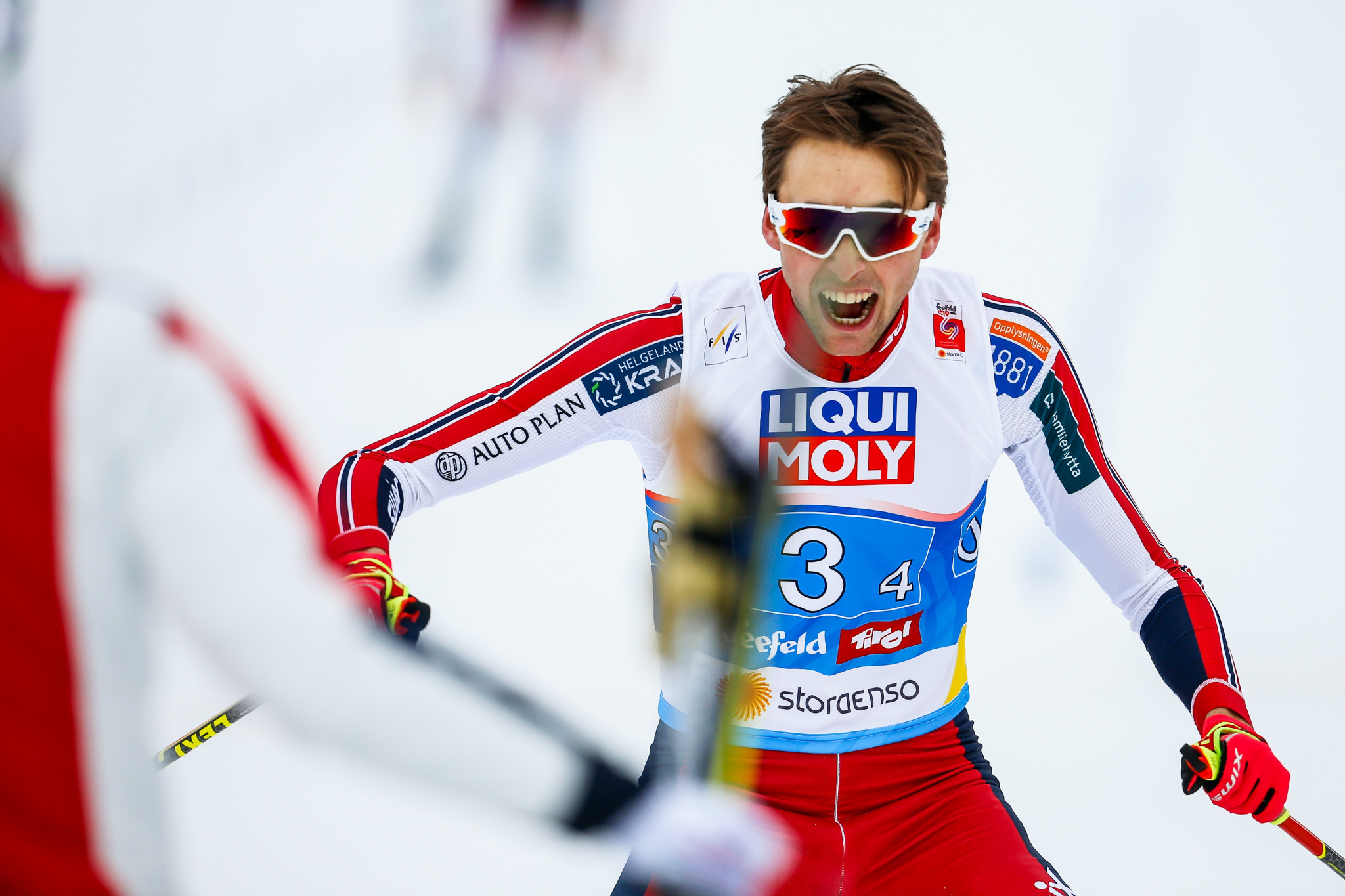 Riiber seeks record breaking end to season as final Nordic Combined World Cup looms