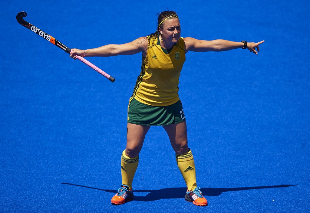 Jade Mayne bagged two goals for South Africa