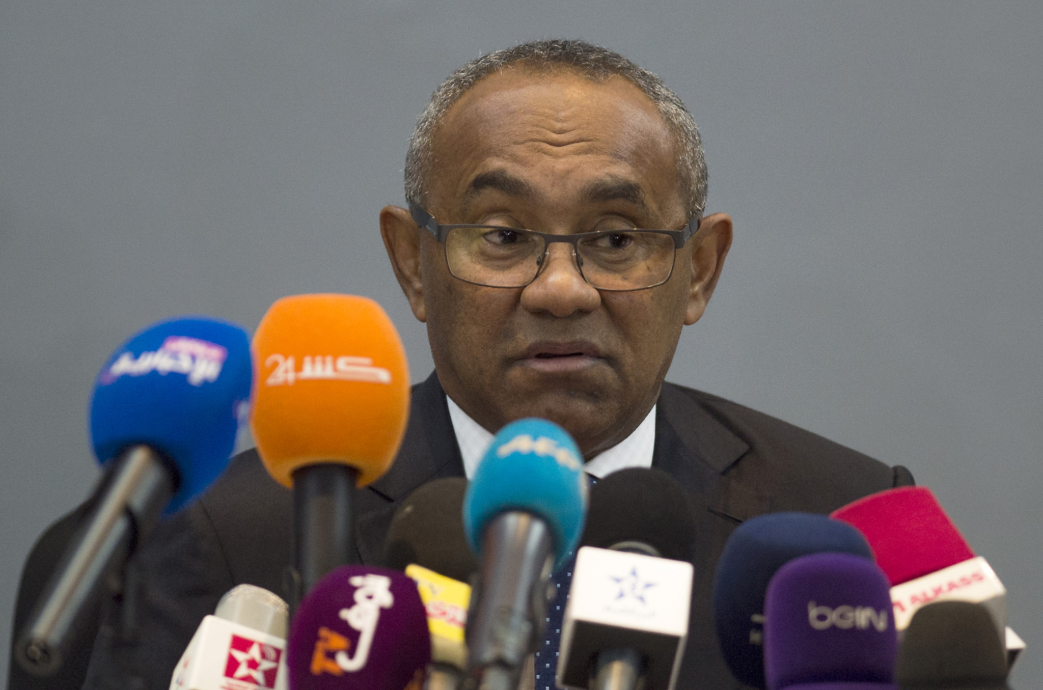 FIFA vice-president Ahmed was denied a visa to travel to the US for the meeting before he was granted one ©Getty Images