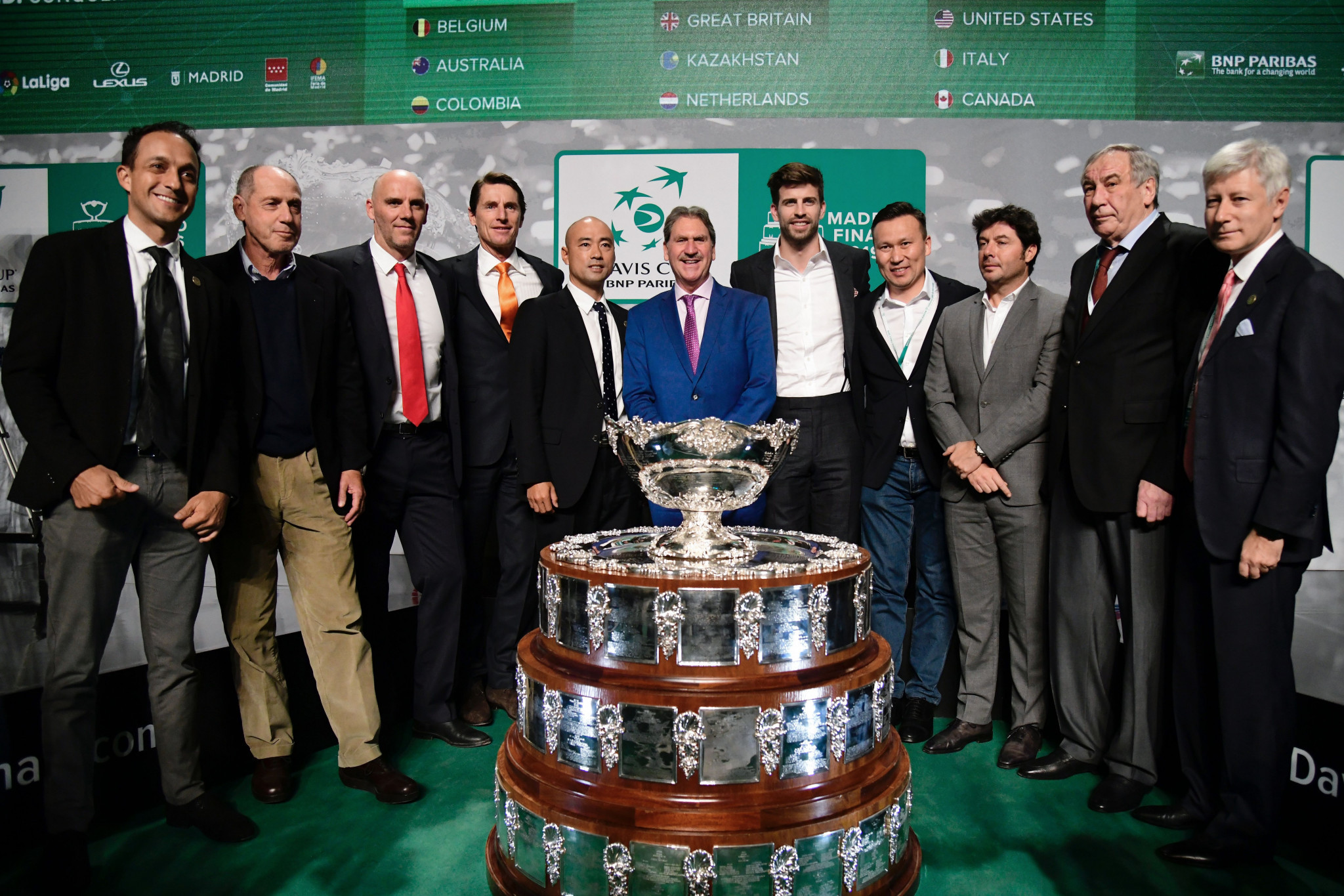 The ATP Cup is set to rival the reformed Davis Cup as the premier international team event in the men's game ©Getty Images