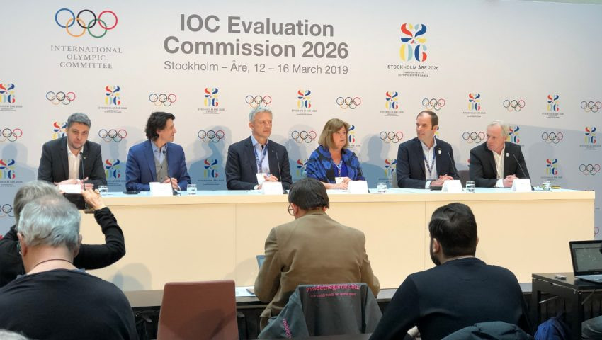 New poll figures released at the end of the IOC Evaluation Commission visit to Stockholm Åre 2026 showed raising support for the bid ©Stockholm Åre 2026
