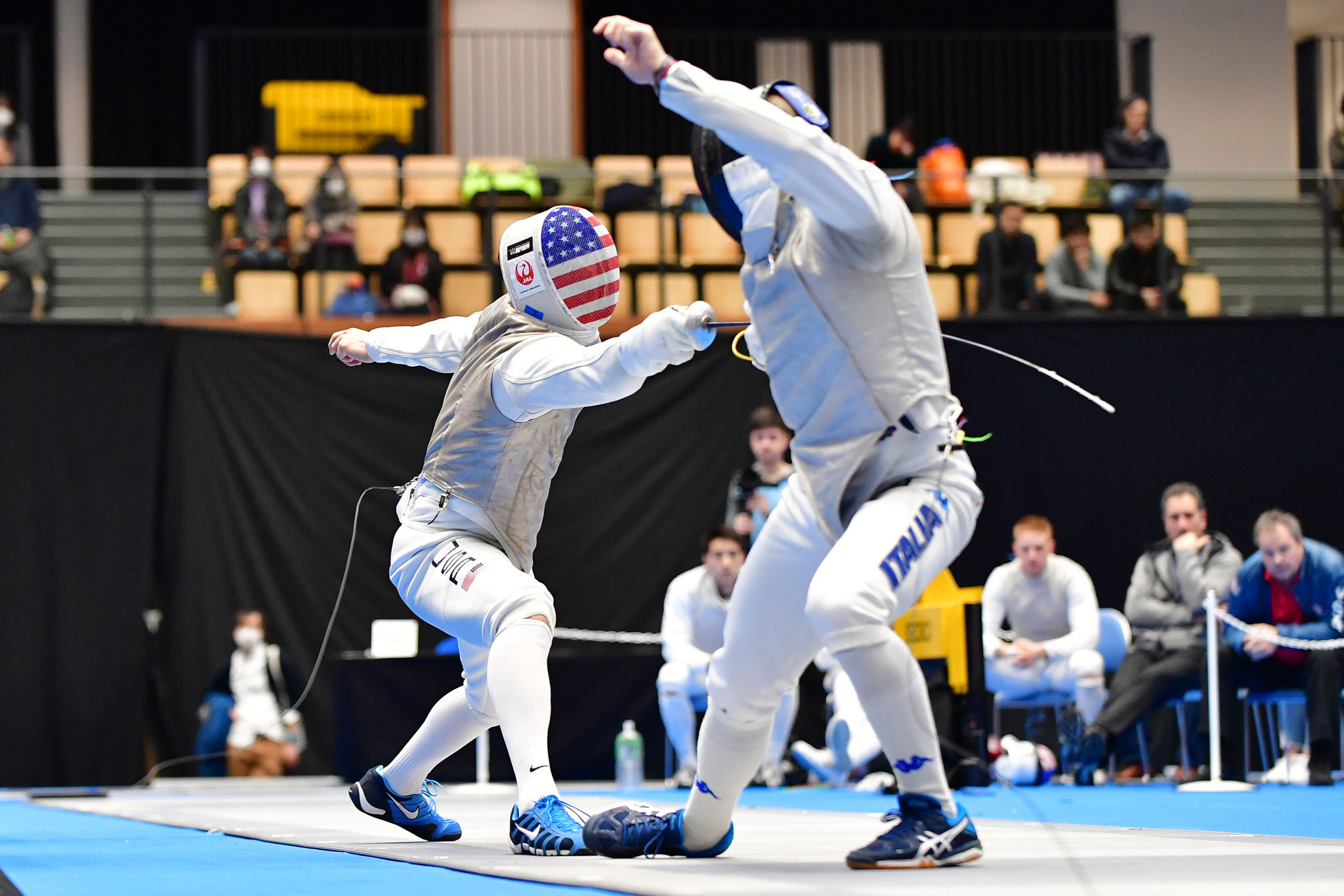 Two US fencers progress from FIE Foil Grand Prix preliminary round in front of home crowd