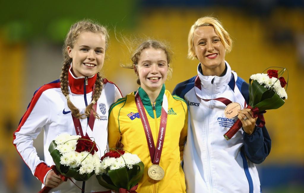 Australian teenager Holt breaks world record to claim gold at IPC Athletics World Championships