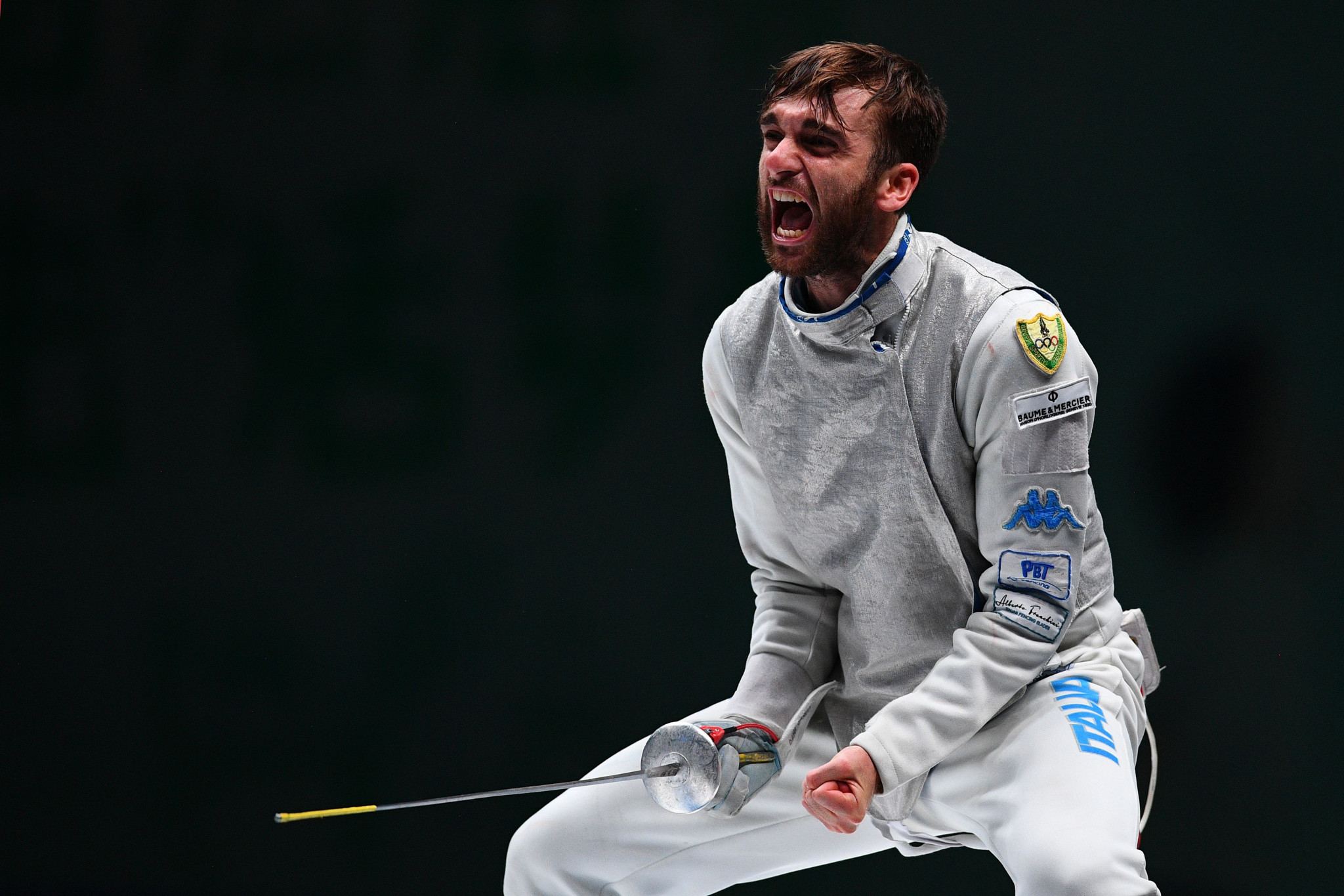 America's Philip Shin will face Italy's Olympic champion Daniele Garozzo in the main round of the FIE Foil Grand Prix in Anaheim after beating Austria's Mortiz Lechner and team-mate Brian Kaneshige ©Getty Images