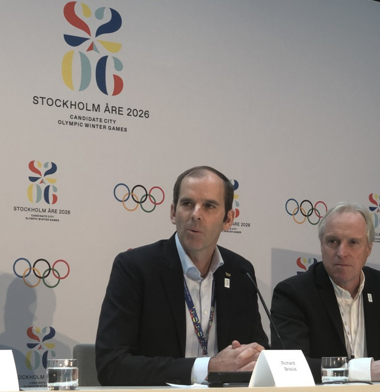 Stockholm Åre 2026 chief executive Richard Brisius hailed the poll results, with 55 per cent in favour of hosting the Winter Olympic and Paralympic Games, as a sign that Sweden has swung behind the bid ©ITG
