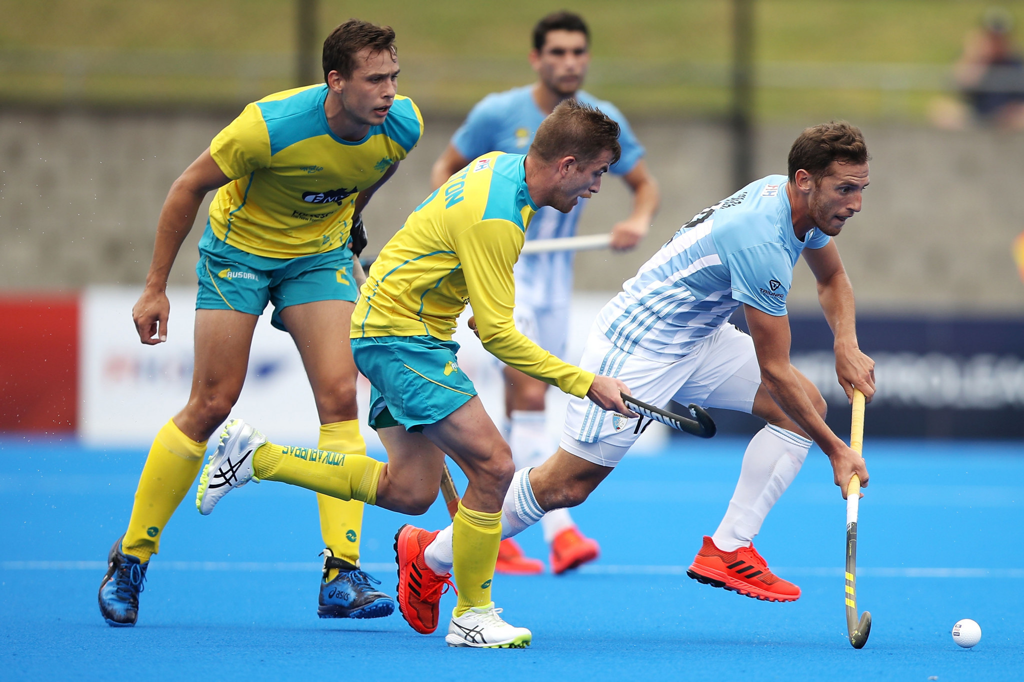 Australia survive Argentinian fightback to secure fourth successive victory in men's FIH Pro League