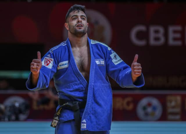 Sagi Muki won the under-81kg class title to double Israel's gold medal tally at the IJF Ekaterinburg Grand Slam ©IJF