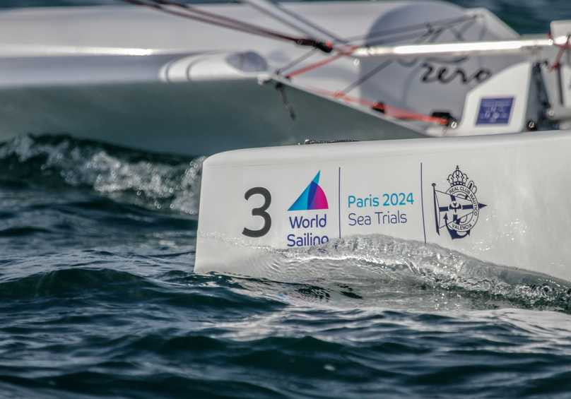Sea trials for the selection of sailing equipment for Paris 2024 have been taking part in Valencia ©World Sailing