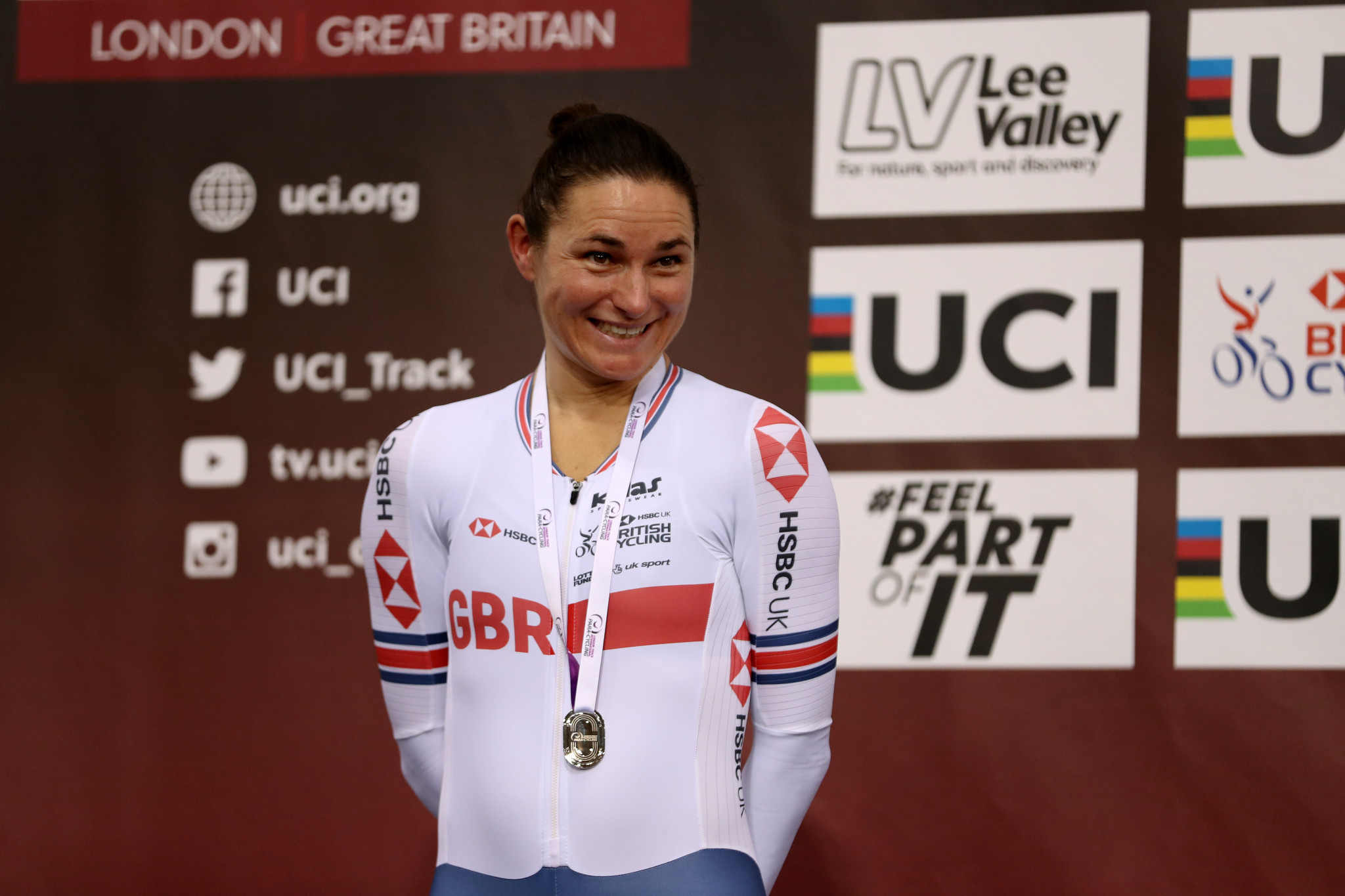 Nothing like a Dame as 41-year-old Storey seals 14th Para-cycling Track World Championships title