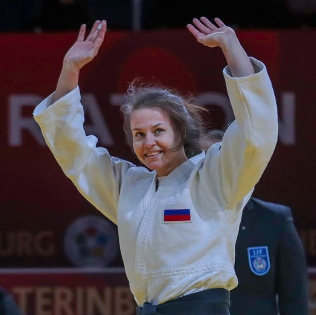 Davydova delivers first gold for hosts Russia at IJF Grand Slam in Ekaterinburg
