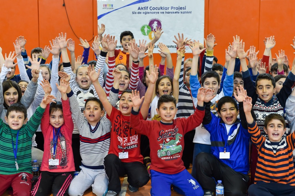 Working with Nike Turkey, the TOC hopes the project will encourage more children to get active