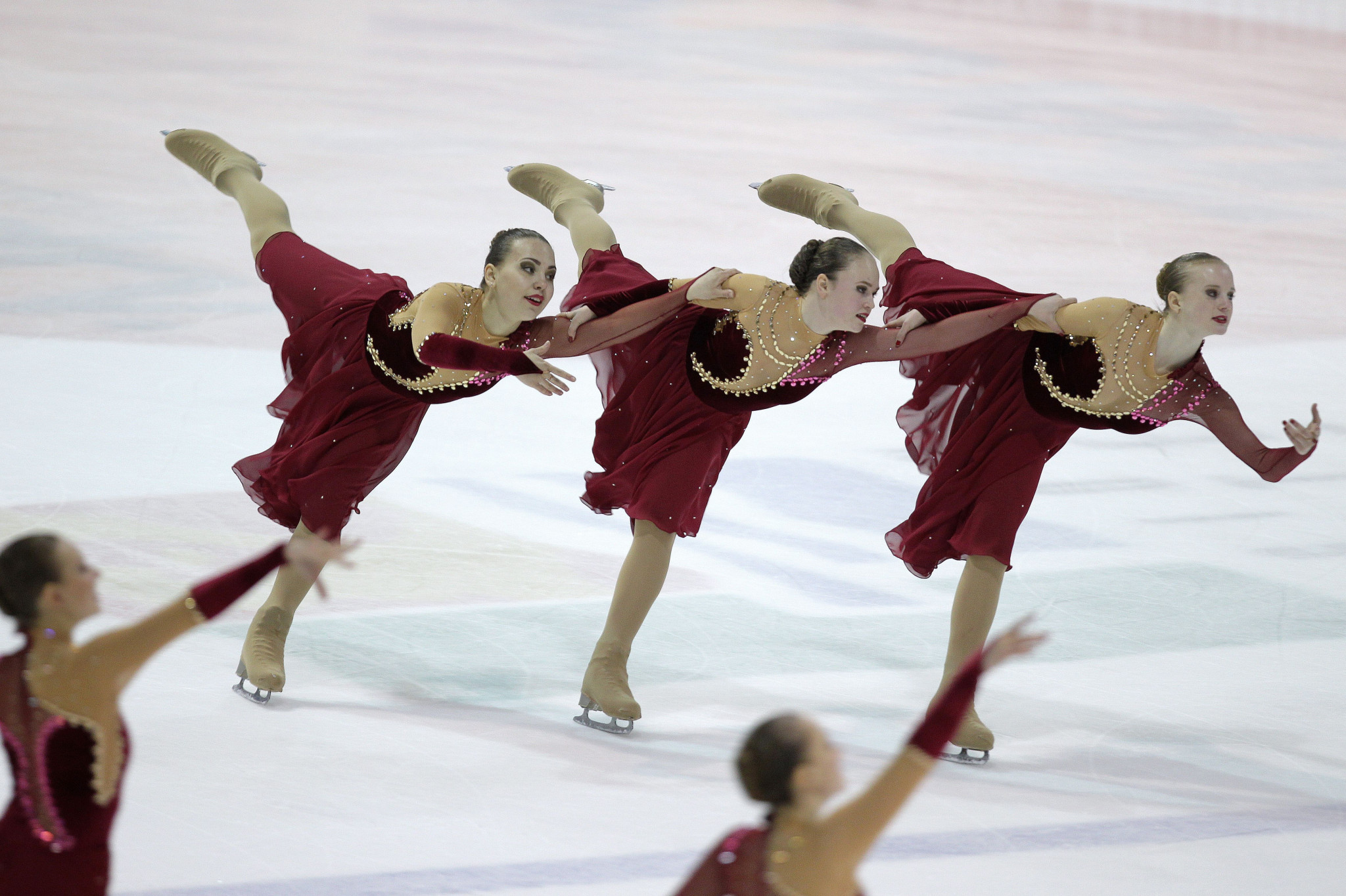 Russia's Team Junost Junior earn third ISU World Junior Synchronized Skating title in Neuchâtel