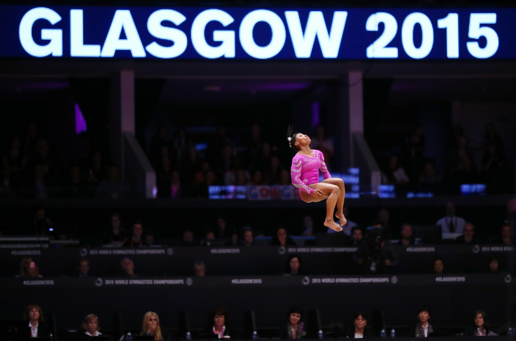 In pictures: 2015 Artistic Gymnastics World Championships day two of competition