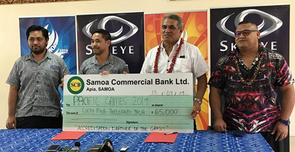 SkyEye Samoa have become an accrediation partner of the 2019 Pacific Games ©2019 Pacific Games