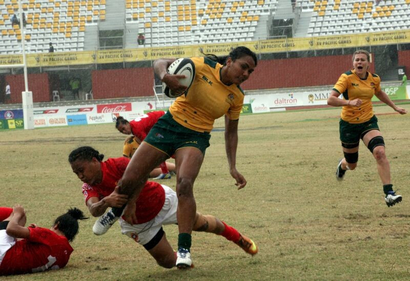 Australia's increasing involvement in regional events, like the Pacific Games in Papua New Guinea in 2015, helps the country increase its influence abroad ©Port Moresby 2015