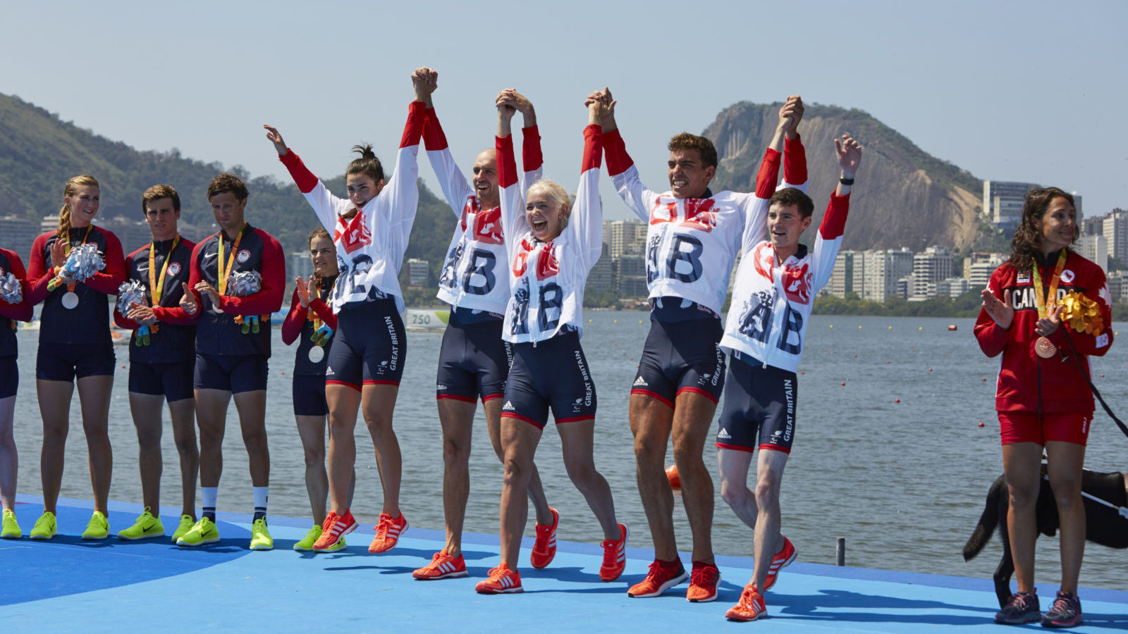 Britain finished second on the overall Paralympic Games medal table at Rio with 64 gold ©British Rowing