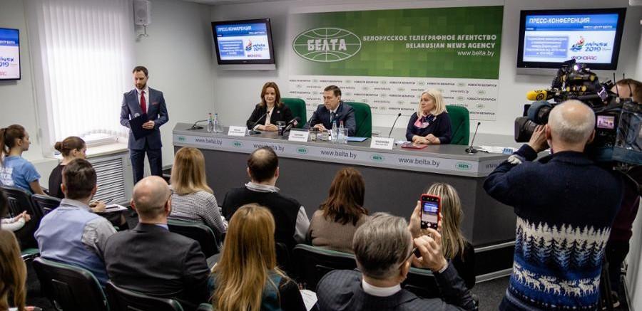 The Minsk European Games Organising Committee have signed a memorandum of understanding with UNAIDS ©Minsk 2019