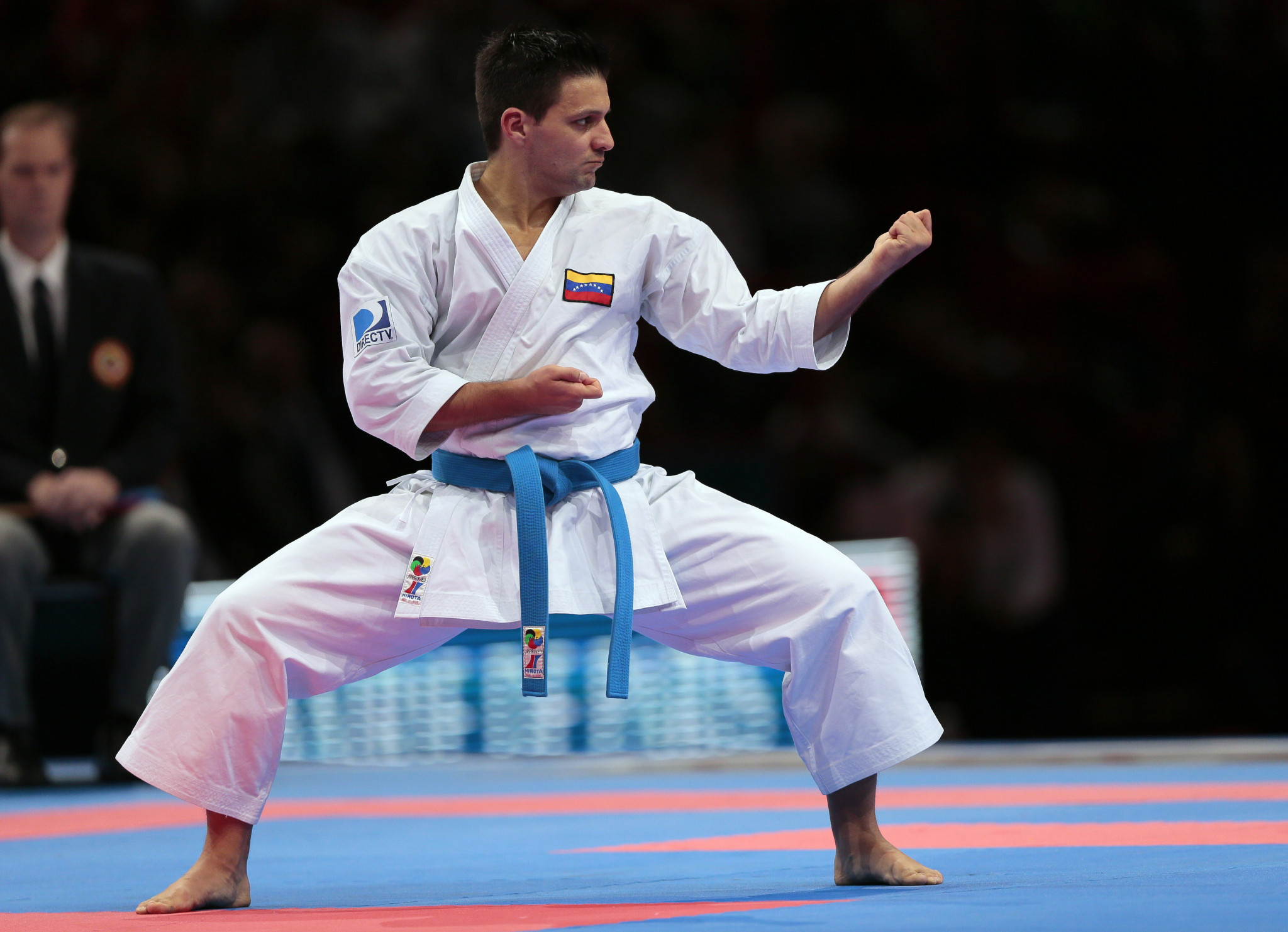 Venezuela's Antonio Diaz will go for his 17th gold at the Pan American Karate Championships ©Getty Images