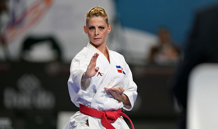 Maria Dimitrova has lost the past four women's kata finals ©WKF