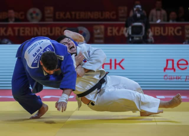 Tamerlan Bashaev won his first Grand Slam gold in the last contest of the IJF Ekaterinburg event to put Russia top of the medals table for the competition ©IJF