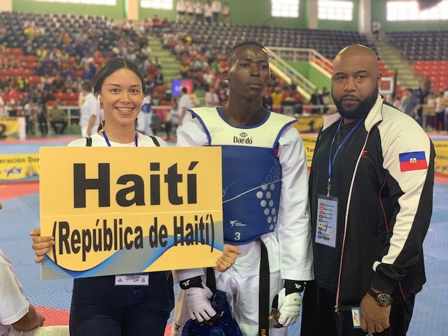 Haitian Taekwondo Federation President says sport on the up following country's participation at Pan American Games qualifier