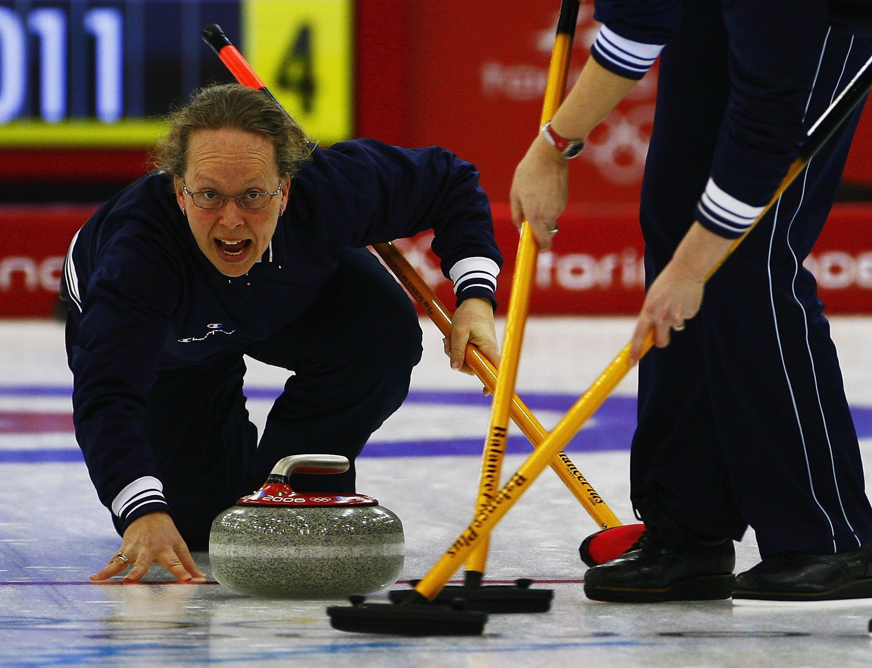 Dordi Nordby was a mainstay of the Norwegian women's curling team from 1981 to 2007, competing in three Winter Olympic Games ©Getty Images