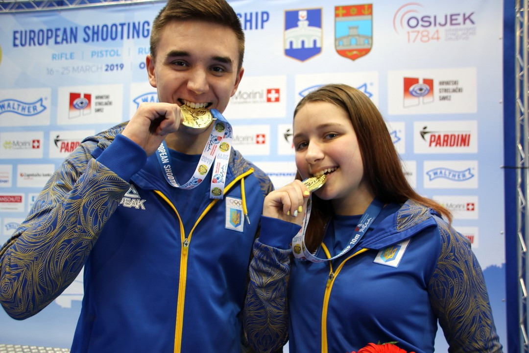 Three golds decided on opening day of European Shooting Championships