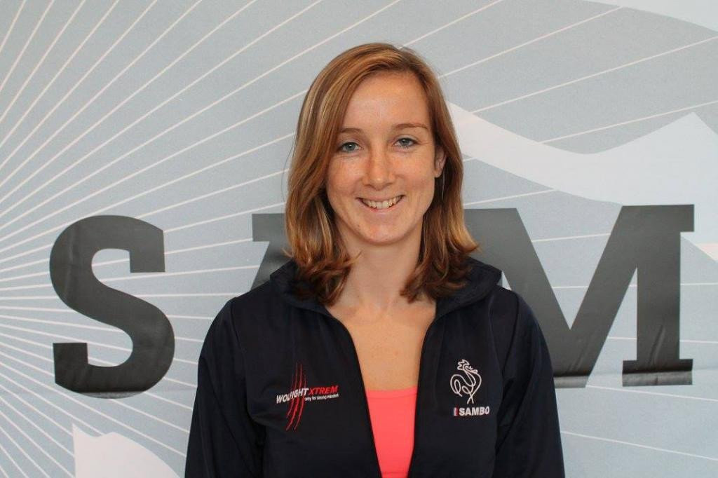 Laure Fournier is one of France's most successful samboists ©French Sambo Committee