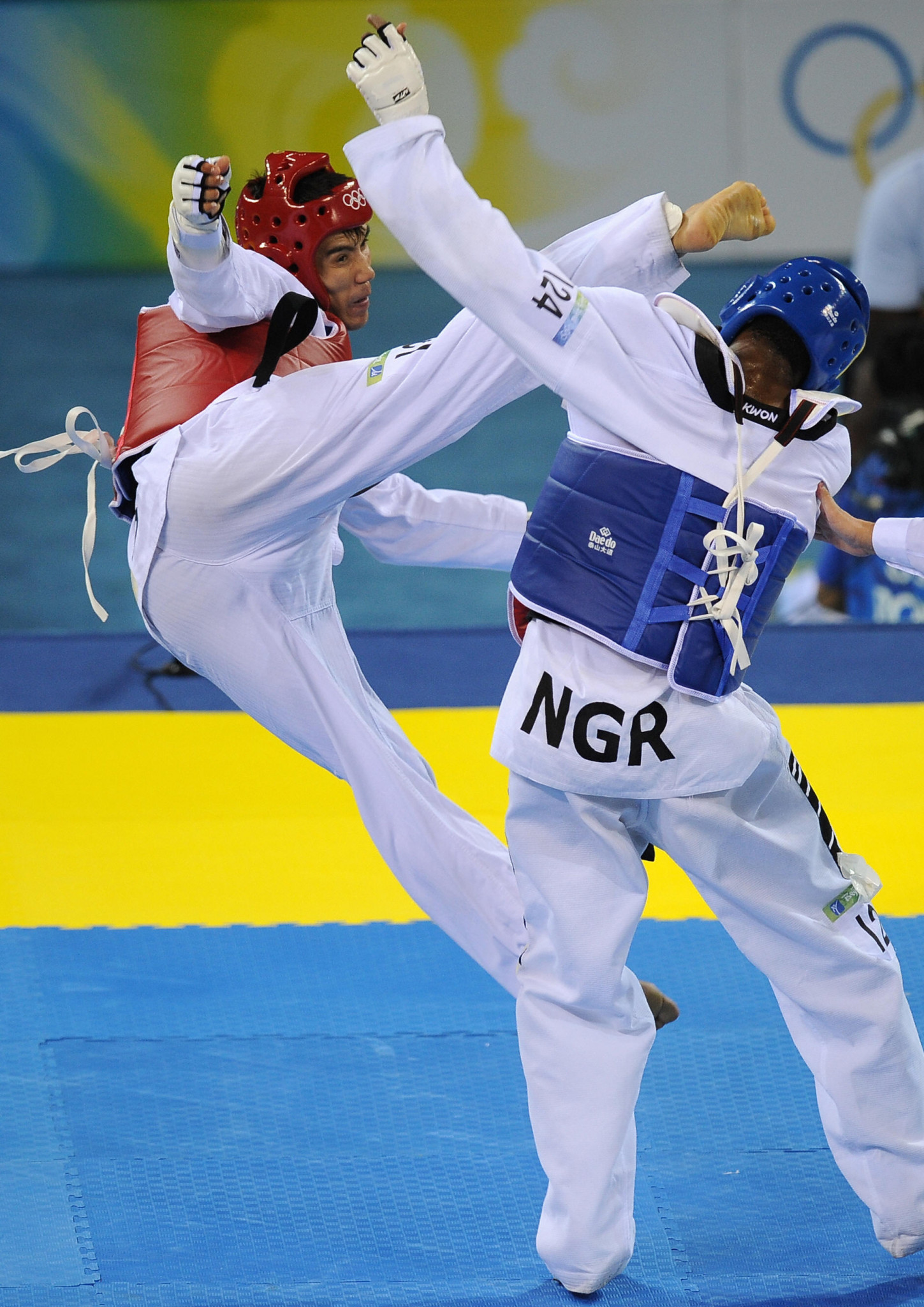 Chika Chukwumerije won Olympic bronze at Beijing 2008 ©Getty Images