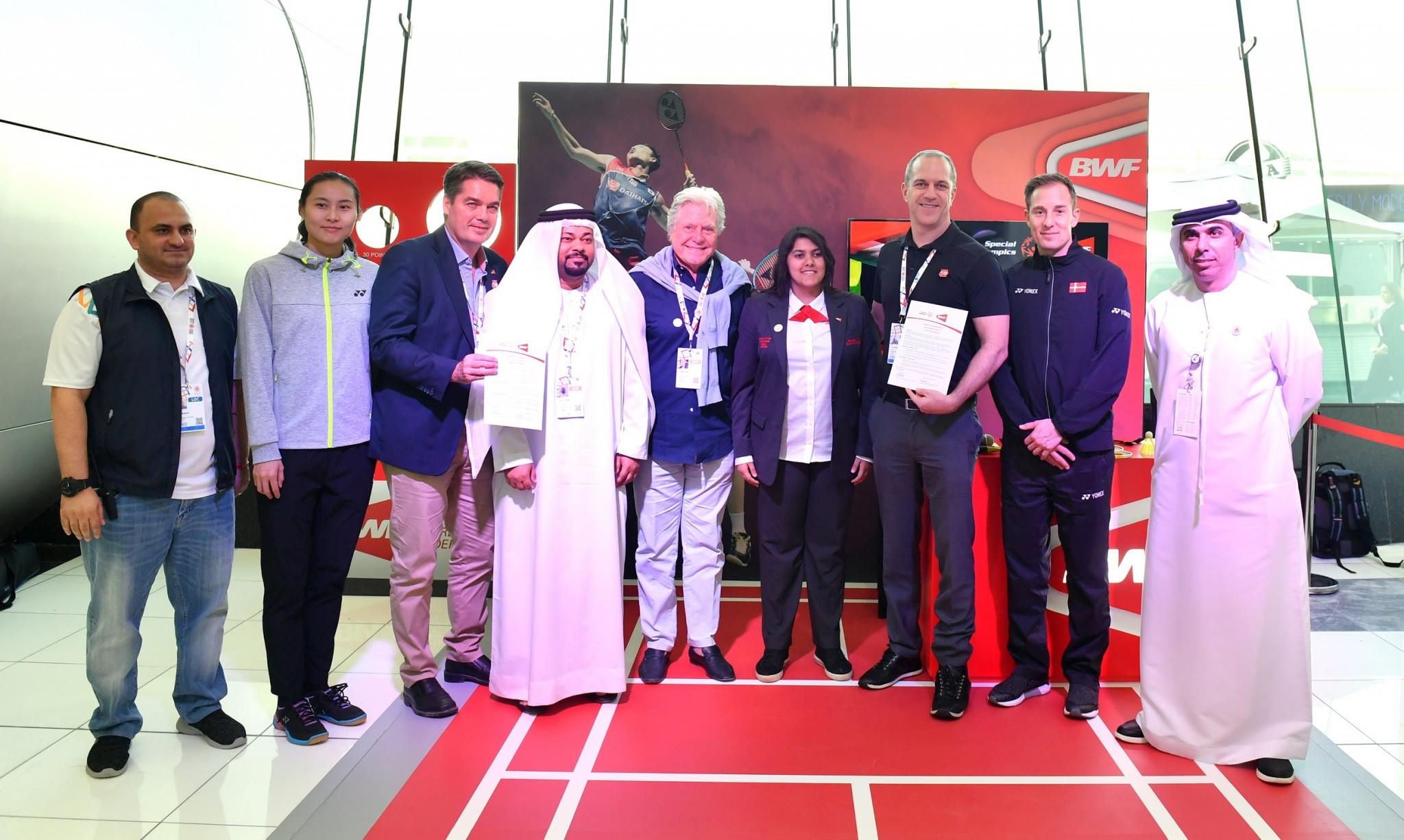 Badminton World Federation and Special Olympics launch long-term partnership