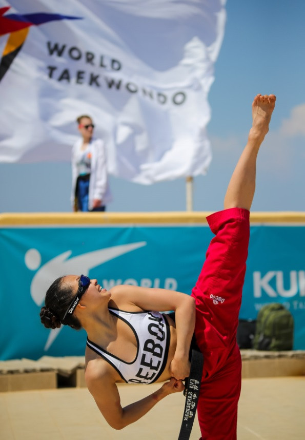 Beach taekwondo is a growing discipline in the sport ©World Taekwondo