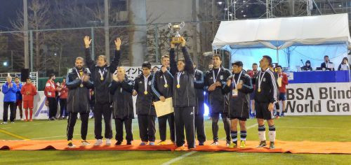 Argentina won last year's competition by beating England on penalties ©IBSA