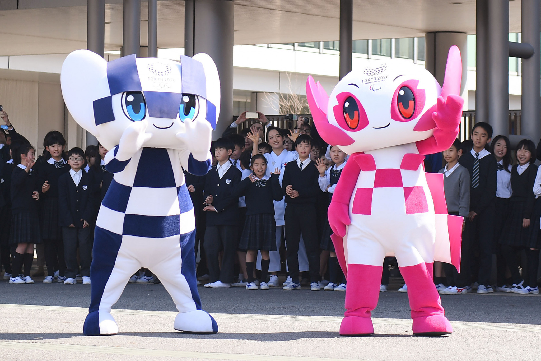 Tokyo 2020 now has all four of its presenting partners for the Olympic Torch Relay ©Getty Images
