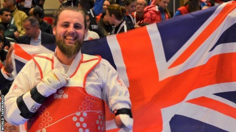 Matt Bush is looking to become the first British man to win world Para-taekwondo gold ©World Taekwondo