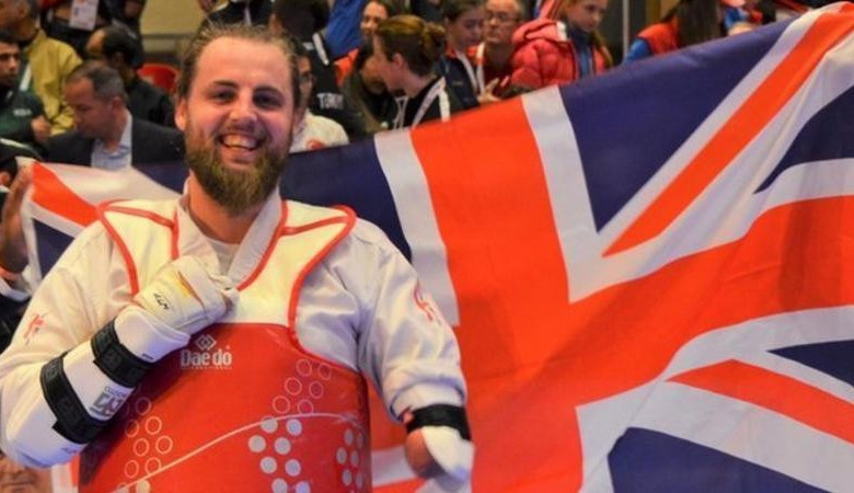 Great Britain's Matt Bush is up to sixth in the men's over 75kg K44 rankings after winning last month's world title ©World Taekwondo