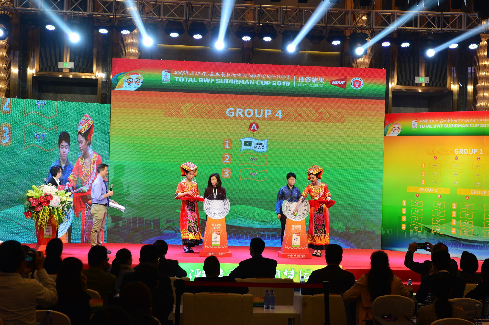 Hosts China handed tough draw in Sudirman Cup
