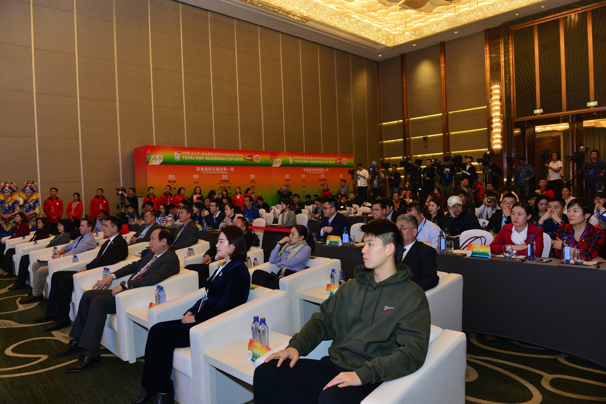 The draw was conducted in host city Nanning ©BWF