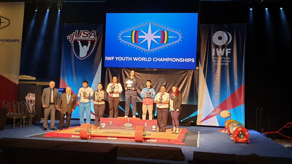 Major nations were missing from the Youth World Championships in Las Vegas ©IWF
