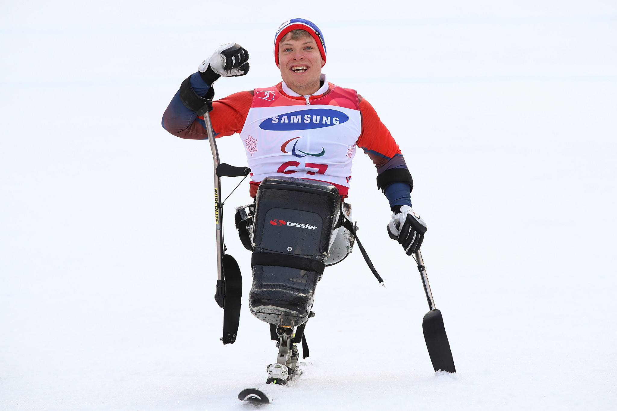 Pedersen leads Norway to victory in new mixed team competition at Para Alpine World Cup Finals