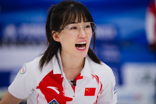 China, whose team includes Ma Jingyi, and Russia are joint first in the standings following the fourth day of round-robin action at the Women's World Curling Championships in Danish town Silkeborg ©WCF/Céline Stucki