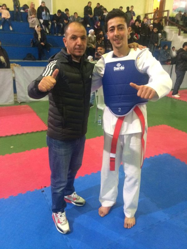 Abed Al Karim Ehsan Khalil made the black belt grade in Amman ©THF
