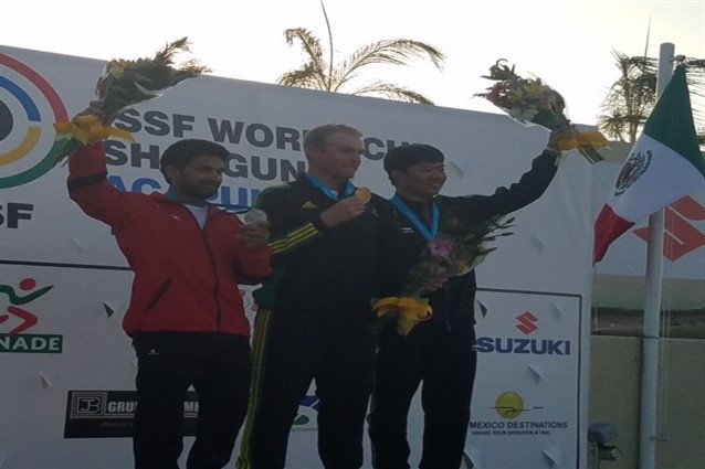 Australia's Willett equals world record on way to winning men's trap title at ISSF Shotgun World Cup in Acapulco